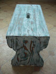 Eklektický domov: Patina na dřevě Pár kousků starého nábytku už jsem...