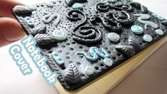 DIY - Polymer Clay Journal Cover