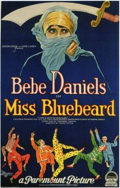 Bebe Daniels - Miss Bluebeard.....1925