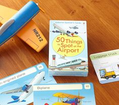 50 Things To Spot In An Airport | Pottery Barn Kids