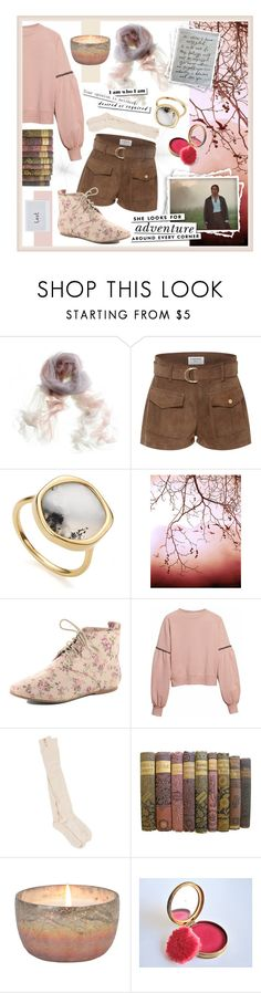 """fitzwilliam forever"" by hellamela ❤ liked on Polyvore featuring Frame, Monica Vinader, WALL, Dorothy Perkins, Burberry, PACT, Kate Spade, sweaterweather and Fall2016"
