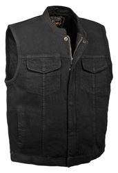 Looking for Milwaukee Leather Men's Concealed Snap Denim Club Style Vest w/Hidden Zipper (Black,) ? Check out our picks for the Milwaukee Leather Men's Concealed Snap Denim Club Style Vest w/Hidden Zipper (Black,) from the popular stores - all in one. Denim Vest Men, Black Denim Vest, Men's Denim, Suit Vest, Vest Jacket, Leather Men, Leather Jacket, Motorcycle Vest, Tactical Clothing