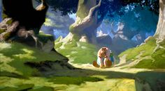 """""""Asterix"""" visual development art by Daniel Cacouault"""