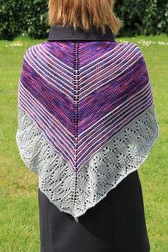 Ravelry: Shawl Mutabor pattern by Lina Utena