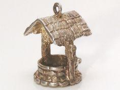 A Fine Vintage Sterling Silver Wishing Well by JulesJewellers