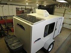 runaway camper solar power install - YouTube
