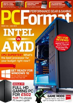 PC Format. #Intel vs. #AMD.