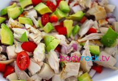 Easy Protein salad to make and take with you to work