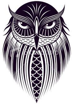 owl Royalty Free Stock Vector Art Illustration