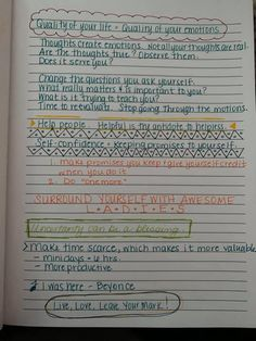 Bullet Journal Lists, You Changed, Thoughts, Ideas