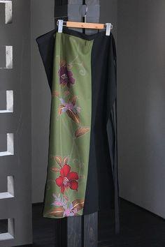 画像: 変形巻きスカート