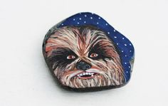Chewbacca - from Star Wars. This was a gift I painted for my grandson for Christmas!