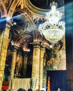 El saló Sant Jordi sempre espectacular. @KRLS #palaugeneralitat #catalunya #architecture #art #coolpic #beatiful #instabcn #instacat #igerscatalunya #instaday