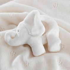 Indy Elephant Rattle - Toys | The White Company