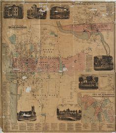 Plan of the City of Burlington, Chittenden Co., Vtpage #1