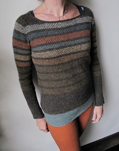 Dessine Moi Un Mouton by La Maison Rililie: FO by HeleenK on ravelry. #knitting #pattern #knitindie