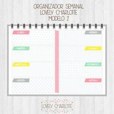 Agenda Imprimible - Moldes Para Manualidades
