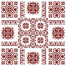 petit rouge cross-stitch - free
