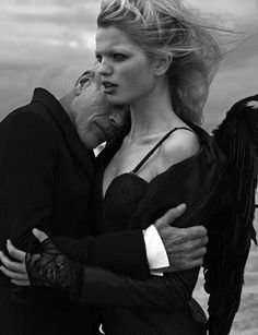 Wings of Desire - Daphne Groeneveld (by Peter Lindbergh)