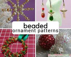 1.25-Inch Beadery Holiday Beaded Ornament Kit Crystal Crosses Makes 24...