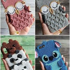 Latest Amigurumi Crochet Free Pattern Toy Models - Amigurumi - In the First Mo . - Latest Amigurumi Crochet Free Pattern Toy Models – Amigurumi – In the first few months, your ba - Crochet Phone Cover, Crochet Case, Crochet Diy, Love Crochet, Crochet Gifts, Crochet Phone Case Pattern Free, Crochet Ideas, Crochet Patterns Amigurumi, Crochet Dolls