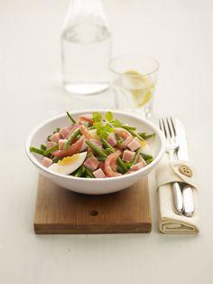 Recepten - Salade met prinsessenboontjes en Meesterlyck-ham