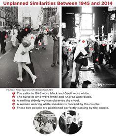 Famous V-J Day Times Square Kiss – Déjà vu