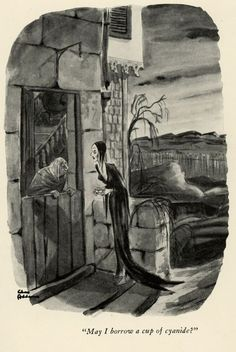 One of Morticia's first appearances The Addams Family, Addams Family Cartoon, Addams Family Values, Adams Family, Addams Family Quotes, Charles Addams, Goth Art, Macabre, Dark Art