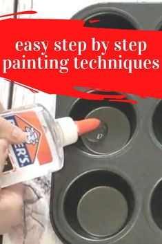 Learn new tricks with these painting hacks and ideas for decorating your home on a budget. How to paint on glass, how to bubble paint and soap distressing technique. Painting Hacks, Glue Painting, Bubble Painting, Painting Frames, Diy Home Crafts, Diy Arts And Crafts, Creative Crafts, Painting On Glass Windows, Step By Step Painting