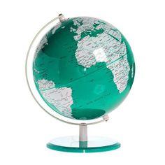Teal Globe.