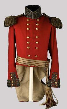 Pre 1855 British Lieutenant General's Coatee.