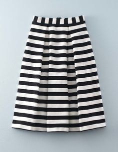 Maggie Ottoman Midi Skirt WG648 Below Knee Skirts at Boden - bought it. love it. now need other colors!!
