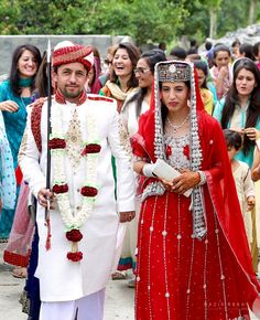 Bride and Groom from Hunza Pakistan.