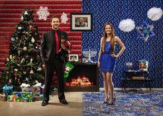 Clever Couple Creates Half-Christmas Half-Hanukkah Card - My Modern Met