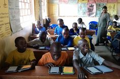 An E-Reader Revolution for Africa?  Schools in developing countries are experimenting with digital books; endless titles, spotty electricity