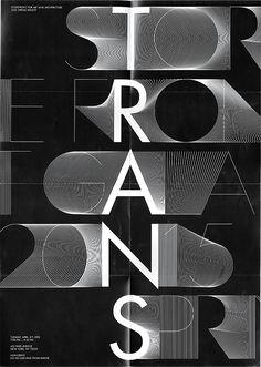 TRANS, Identity system - Exhibition on Branding Served