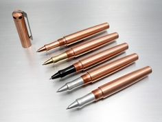 Ink Rollerball- Copper. Karas Kustoms