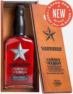 Garrison Brothers Cowboy Bourbon Barrel Proof Texas Straight Bourbon Whiskey