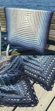Midnight Walk Blanket Free Crochet Pattern
