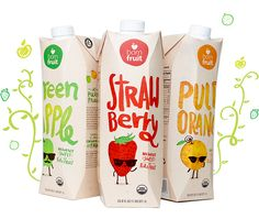 The challenge of this project was to design Born Fruit's new package, using the Tetra Pak technology. The company's value is very clear: to provide healthy and fair trade juices.