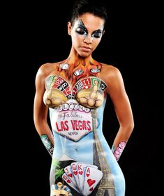 Confessions Of A Body Painter  #refinery29 http://www.refinery29.com/body-painting-techniques