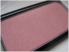 "artdeco blusher 18 ""DUPE"" for MAC Cubic (possibly a slightly shimmer in-between of Cubic and Desert Rose)"