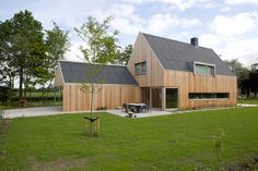 Drawn by me! Design by COR KALFSBEEK ARCHITECTUUR, house at Haren