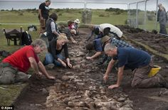 Britain's oldest pavement dating back 4,000 YEARS is uncovered between two ancient ceremonial circles in Cornwall