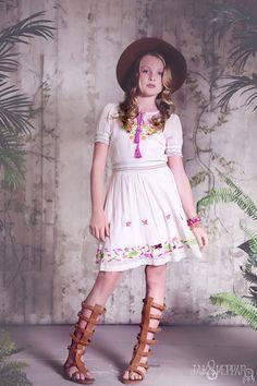 Jak & Peppar ~ Endless Love Dress (Vanilla Motif)