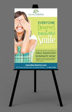 Design #23 by bluecoffee | Create a poster for charity smile makers for a dental office