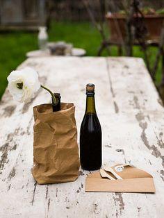Ook handig als wijnhouder en zeer decoratief!