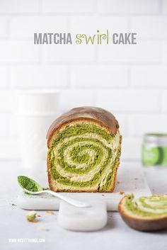 Matcha Kuchen oder Matcha Brot mit Wirbel (+Thermomix-Rezept) | Nicest Things | Bloglovin'