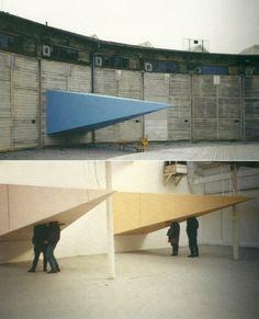 Pipilotti Rist, A Look to the East (Eine Spitze in den Westen – ein Blick in den Osten), 1992-1999.