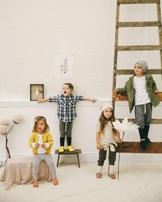 KID Fashion Blog: Kindred OAK AW14 - handmade organic children's clothes